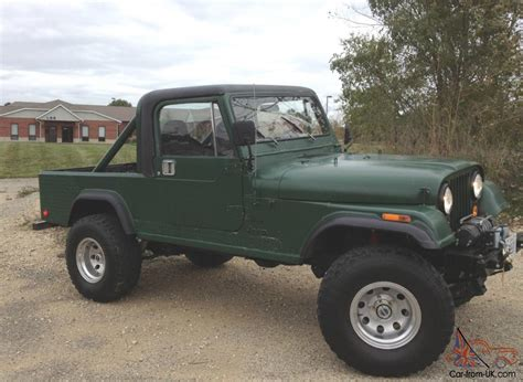 1983 Jeep Cj 8 Scrambler 4wd Hard Top Hard Doors Led
