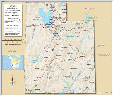 utah cities map large utah maps for free and print high