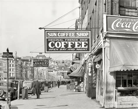 Jabra Classic By St Toms Store shorpy historic picture archive sun coffee shop 1935