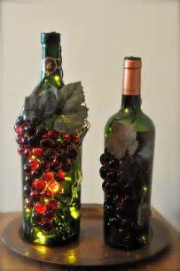 handmade grape wine bottle nightlights linda erb s blog