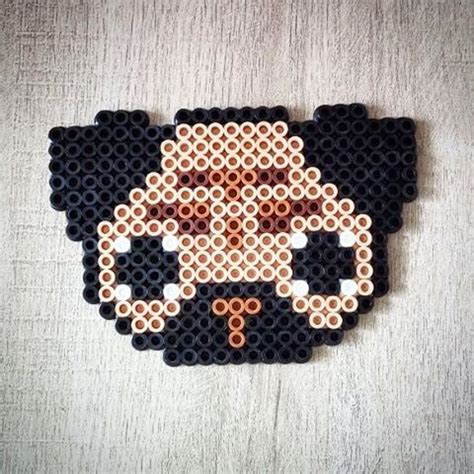 pug perler 1000 ideas about perler on hama and bead patterns