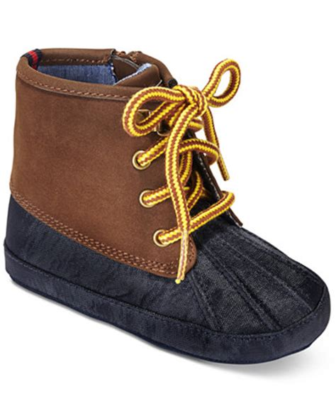 duck boots for boys hilfiger baby boys lil duck boots shoes