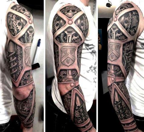 tattoo 3d biomechanical biomechanical 3d arm tattoos