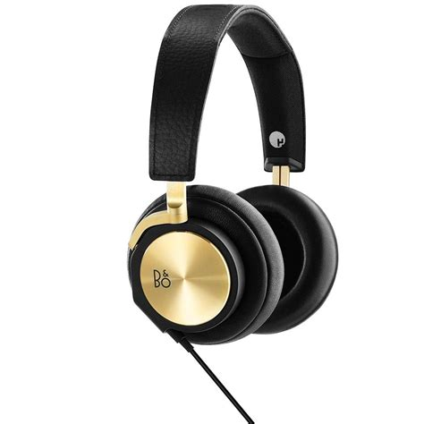 Hisound Golden Audio Earphone beoplay h6 with dj khaled black golden home