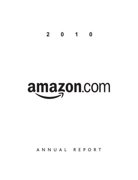 amazon annual report amazon annual report