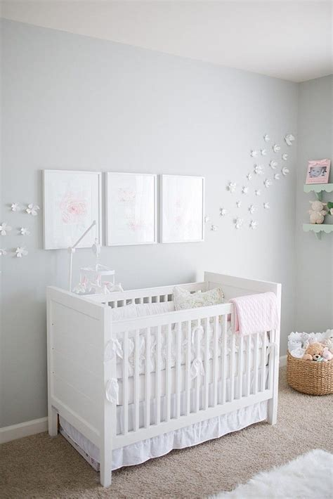 Light Gray Crib by Best 25 White Cribs Ideas On Baby Room