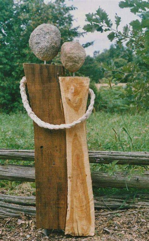 Gartendeko Aus Holz by Die Besten 25 Gartendeko Holz Ideen Auf