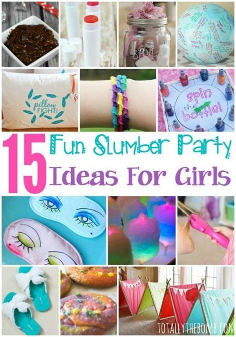 themes for girl sleepovers 15 fun slumber party ideas for girls slumber parties