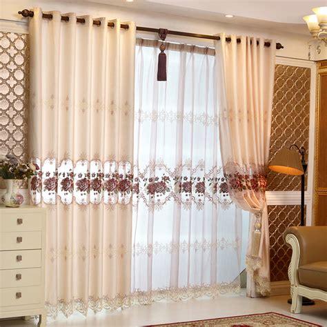 Moderne Wohnzimmer Gardinen 378 by Kaufen Gro 223 Handel Luxus Vorh 228 Nge Aus China Luxus
