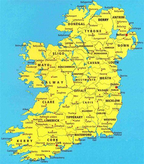 map ireland ireland maps of ireland and related info