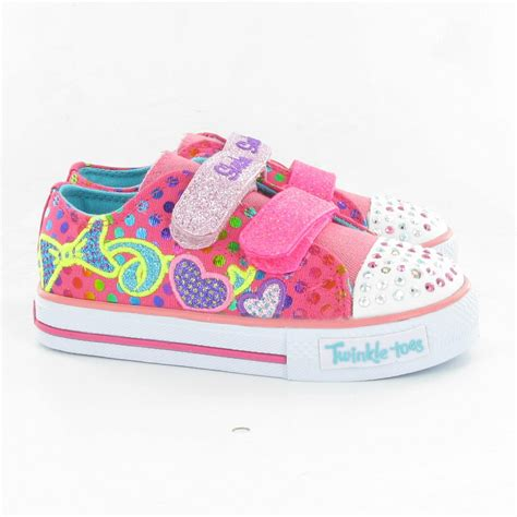 skechers 10361 twinkle toes shoes in pink