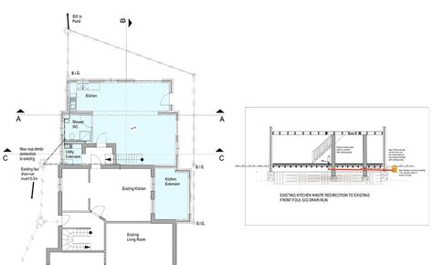self build house extension drains planning building regulations creating plans for an extension