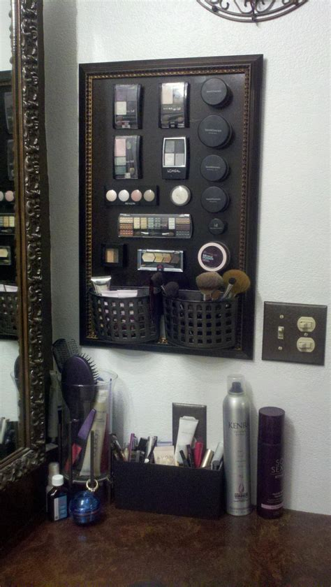 Bor Ace Hardware to do make my own magnetic makeup board cheap frame from