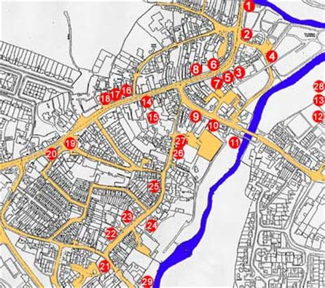 map uk wolverhton newport pagnell historical society town trail