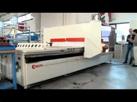 rj woodworking machinery scm pratix s nesting cnc machine centre mp4