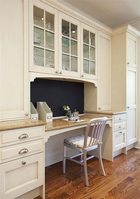 design home office using kitchen cabinets built in kitchen desk built in kitchen desk kitchen