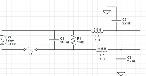 capacitor as ground filter what is the purpose of a capacitor to ground electrical engineering stack exchange