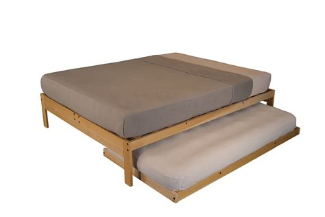 Unfinished Bed Frames Unfinished Platform Bed Without Headboard The Futon