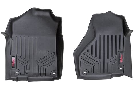 rou m 3021 rough country heavy duty floor mats 02 08 dodge ram 1500