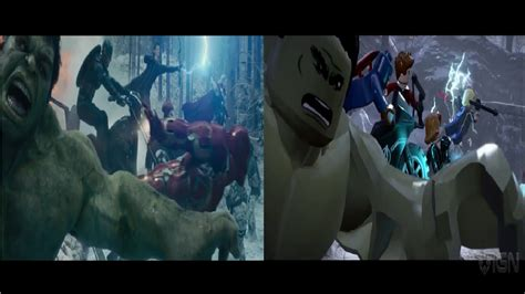marvel film opening avengers age of ultron opening scene and lego marvel a