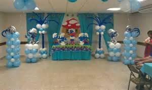 smurfs balloon decoration smurfs party balloon decorations decor decoration