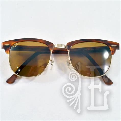 Jual Ban Clubmaster Classic vintage ban clubmaster classic horn rimmed sunglasses from easterbelles emporium on ruby