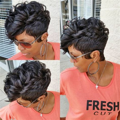 short 27 piece hairstyles for african women quick weave short hairstyles for black women