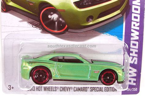 hot wheels chevy camaro special edition model cars