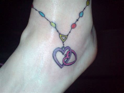heartbeat tattoo ankle 50 heart tattoos for ankle