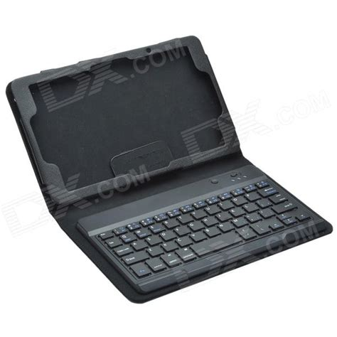 Keyboard Pu Keyboard With Protective Leather bluetooth v3 0 keyboard protective pu leather w