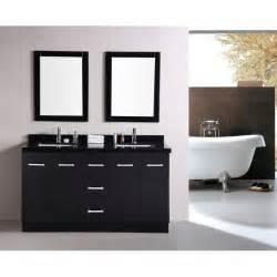 60 Inch Vanity Set Design Element Dec305 Cosmo 60 Inch Sink Bathroom