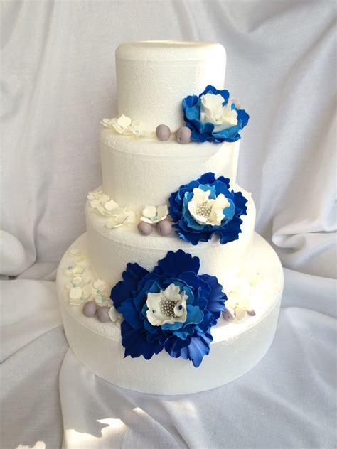 wedding cake flowers 51pcs wedding cake topper edible fondant