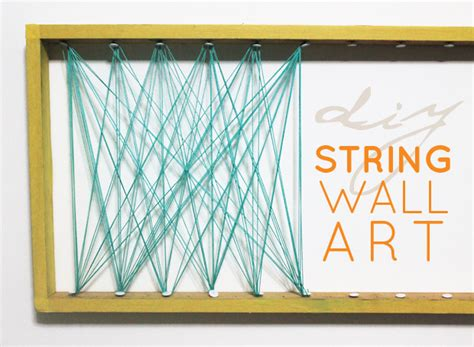 String Wall - simple string wall what else