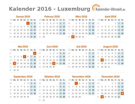 Calendar 2018 Luxembourg Feiertage 2016 Luxemburg Kalender 220 Bersicht