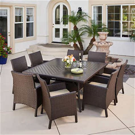 mission hills dining room set avalon bay 9 piece dining set by mission hills 174