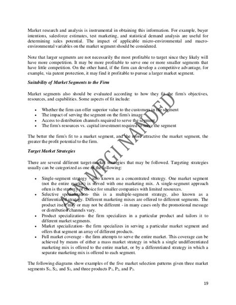 Marketing Management Notes For Mba 2nd Sem by Marketing Management 3 1 1 1 1 Mba 2nd Sem
