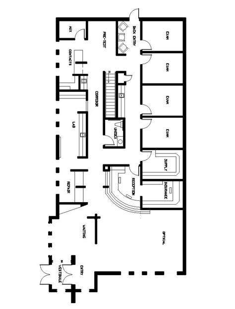 optometry office floor plans eye health solutions