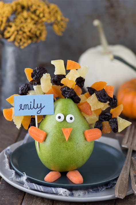 Thanksgiving Edible Decorations by Edible Thanksgiving Turkey Place Card Or Centerpiece The Year