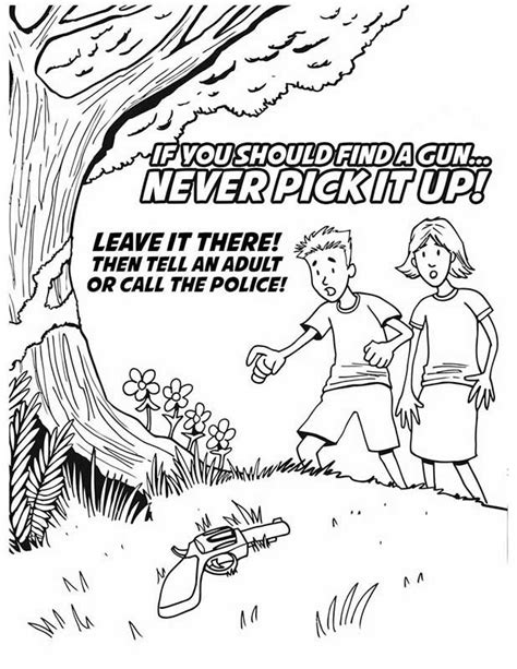 free coloring pages of drug awareness