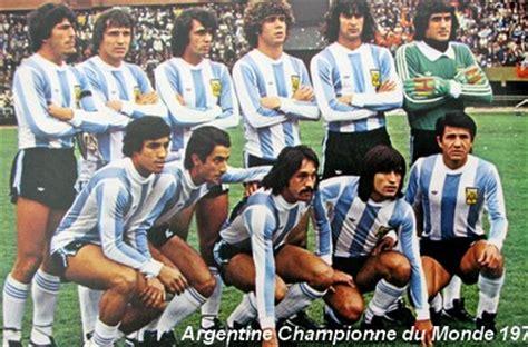 histoire de la coupe du monde 1978 retrospective de la