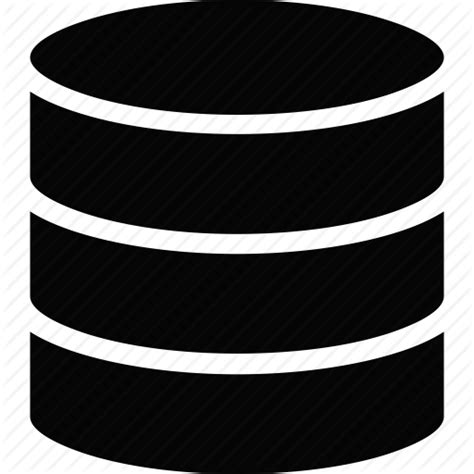 Database Search Database Icon Black And White Www Pixshark Images Galleries With A Bite
