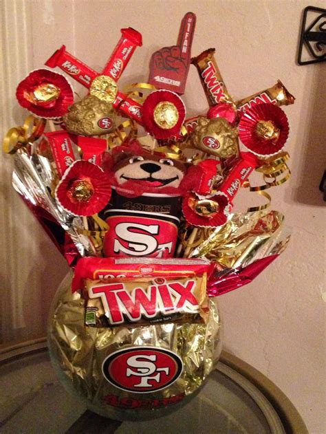 ers candy bouquet   candy     walmart  creations pinterest man
