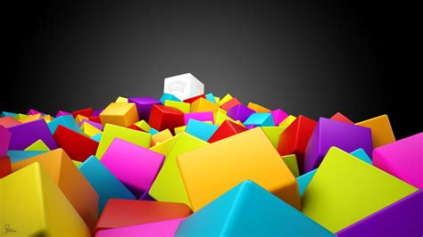 colorful squares wallpapers hd wallpapers id