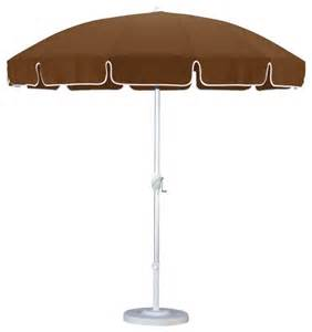 Modern Patio Umbrella California Umbrella 8 5 Ft Aluminum Push Button Tilt