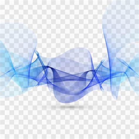 design effect wavy effect with blue tones vector free download