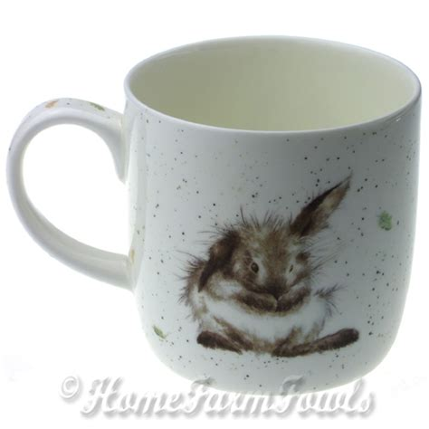 Rabbit Mug by Royal Worcester Wrendale Design Mug Rosie Mug Rabbit