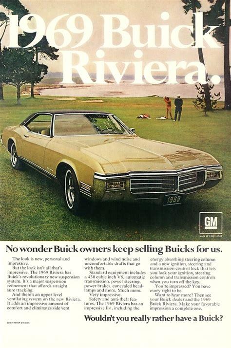 buick riviera vintage retro ad buick