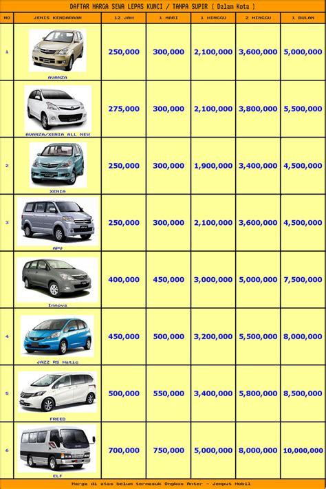 Harga Sewa Mobil by Harga Sewa Mobil Harian Di Purwokerto 085853340000 Sewa