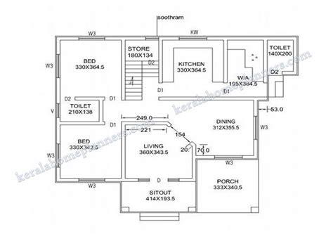 bedroom stylish home design   sqft   plan