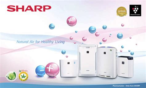 Sharp Air Purifier Fu A28y B sharp heap seng pte ltd